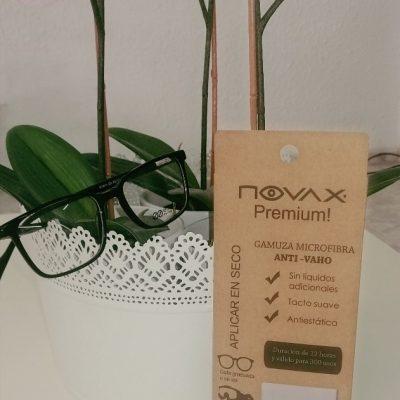 Gamuzas Novax Premium AntiVaho 300 usos Gafas - Optica Santander - Valencia