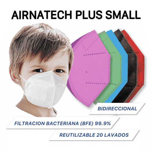 Mascarillas Airnatech plus Small infantil